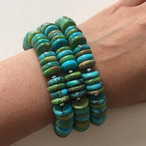 Jay King Sterling Silver Turquoise Bracelet